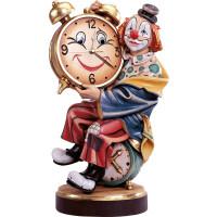 Clown mit funktionstüchtiger Uhr