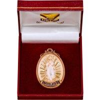 Medaillon Madonna Lourdes mit Schatulle