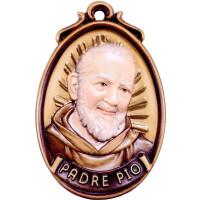 Medaillon Padre Pio