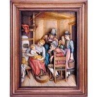Besuch der Großeltern mit Rahmen