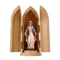 Sacred Heart of Mary in niche