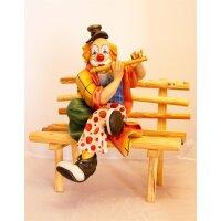 Clown Amadeus mit Querflöte