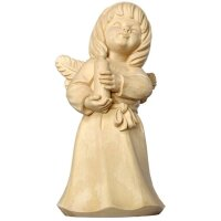 Angel of love with candle