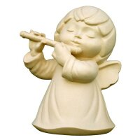 Angel Luna with flute