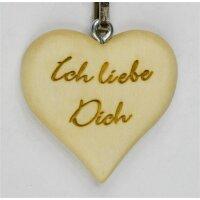 """Schlüsselanhänger """"Ich liebe dich"""""""