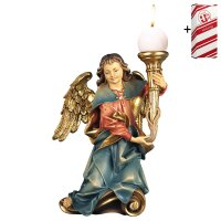 Chorus angel with candle right side + Gift box