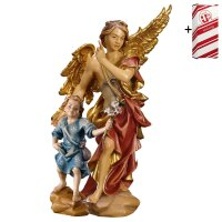 Guardian angel with child + Gift box