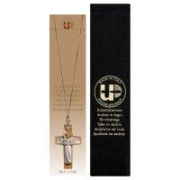 Cross Good Shepherd necklace + Velvet case
