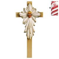 Cross Sacred Heart Jesus + Gift box