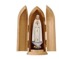 Our Lady of Fátima in niche