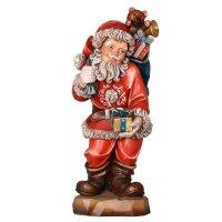 Santa Claus with parcel