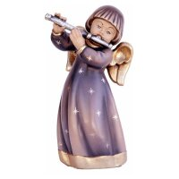 Original luck angel with to transverse flute